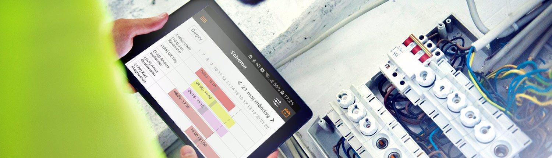 Affärssystem för hantverkare och installatörer