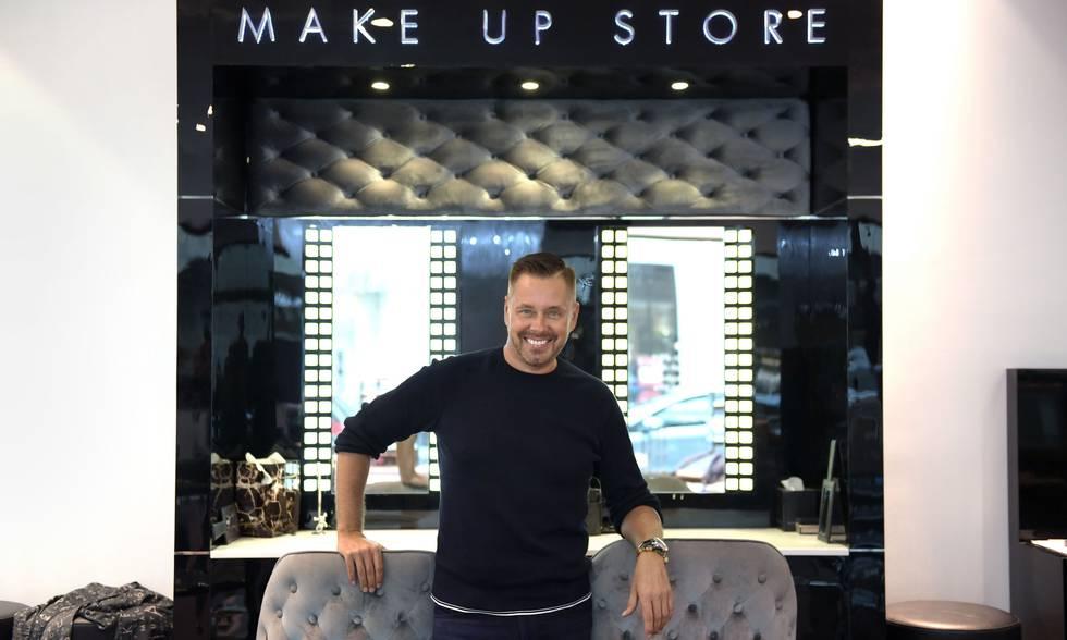 Mika Liias är VD och grundare av MakeUpStore